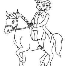Kleurplaat Paarden Spirit Young Girl Training A Horse Coloring Pages Hellokids Com