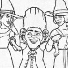 Desenhos Para Colorir De Desenho Dos Inimigos Do Shrek Para