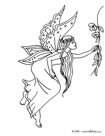 Fairy wings coloring pages Hellokidscom