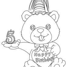 Birthday Coloring Pages Hellokids Com