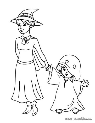 Witch and Flubber coloring page