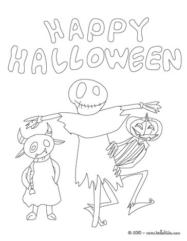 Living dead doll coloring page
