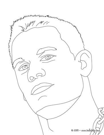 Champion john cena coloring pages Hellokidscom