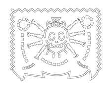 Mexican Day Of The Dead Coloring Pages Coloring Pages Printable Coloring Pages Hellokids Com