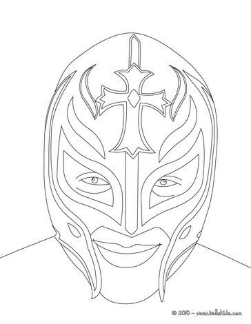 Sketches of WWE sin cara and rey