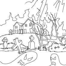 Halloween haunted house -spooky activities for kids