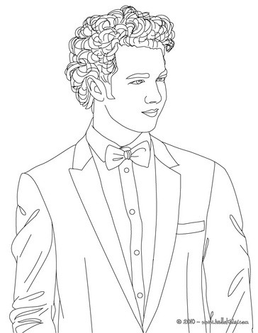 Kevin jonas coloring pages - Hellokids.com