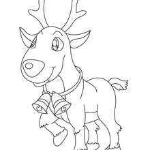 Santa S Reindeer Coloring Pages 25 Xmas Online Coloring Books And Printables
