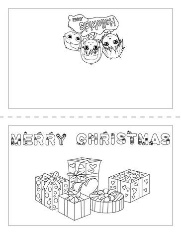 Gifts design coloring pages  Hellokidscom