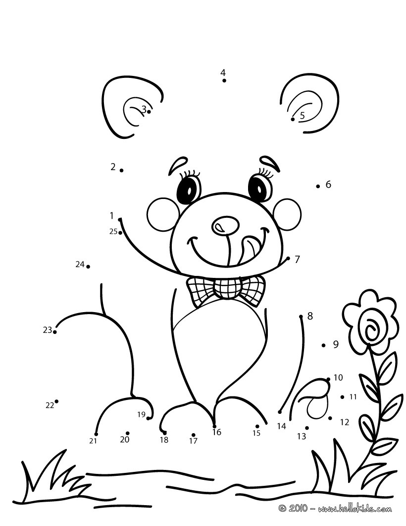 Number Tracing Coloring Page 1 20 | New Calendar Template Site