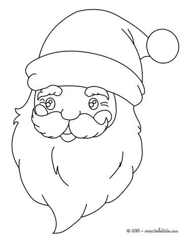 Saint Nicholas close up coloring page