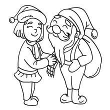 Elf : Coloring pages, Drawing for Kids, Reading & Learning ...