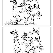 COW spot the 5 differences game
