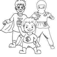 SUPERHEROS CARNIVAL COSTUMES