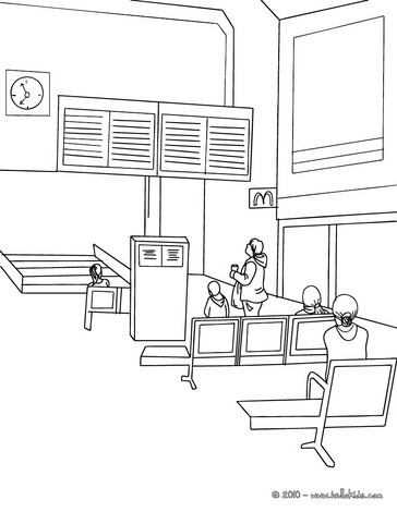 modern train coloring pages - photo#24