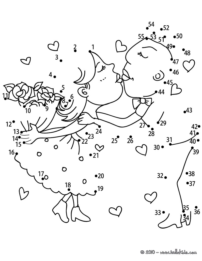 Connect The Dots Coloring Pages Hellokids Com