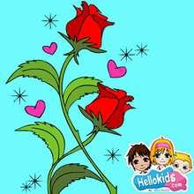 Valentine rose puzzle - Free Kids Games - KIDS PUZZLES games - VALENTINE puzzles