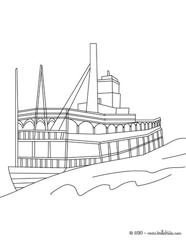 Boat : Coloring pages, Free Online Games, Drawing for Kids, Videos ...