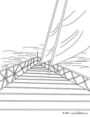 sailing boat sailing boat coloring page