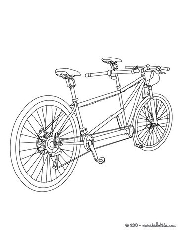 Bmx bike color in coloring pages Hellokidscom