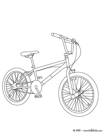 coloring pages of bikes - photo#41