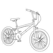 Bike Coloring Pages Coloring Pages Printable Coloring Pages Hellokids Com