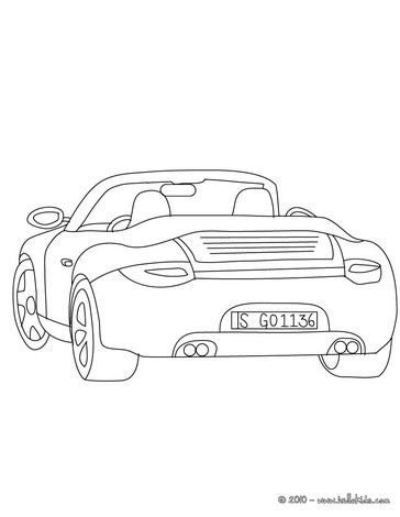 porsche carrera coloring pages. Cars Review. Best American Auto & Cars Review