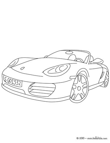 Porsche Boxster Cabriolet further How To Draw Cars Lightning Mcqueen additionally Pickup Truck further  moreover Frozen Color By Number Printables. on www tiny cars