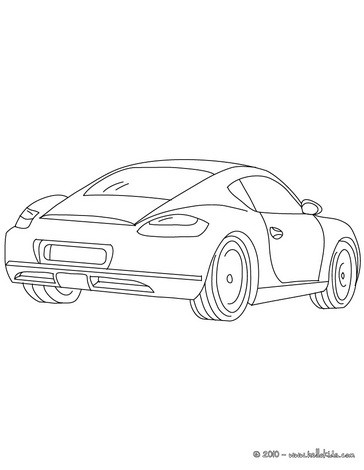 porsche cayman coloring pages. Cars Review. Best American Auto & Cars Review