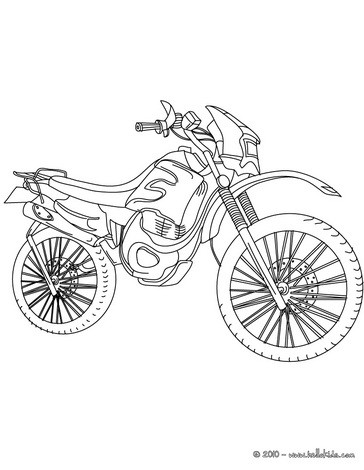 Trail coloring page