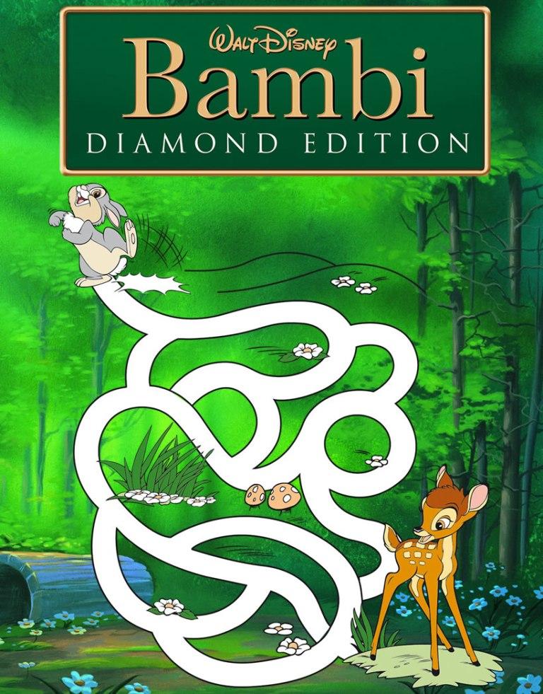 Bambi maze game