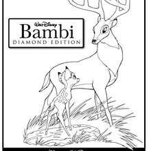 Bambi Coloring Pages 126 Free Disney Printables For Kids To Color Online
