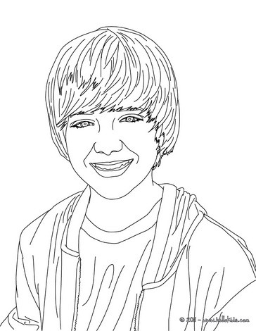Singer greyson chance coloring pages - Hellokids.com