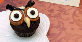 Hoot Owl Cupcake Recipe recipe