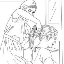 Hair salon coloring pages ~ Hair salon coloring pages - Hellokids.com