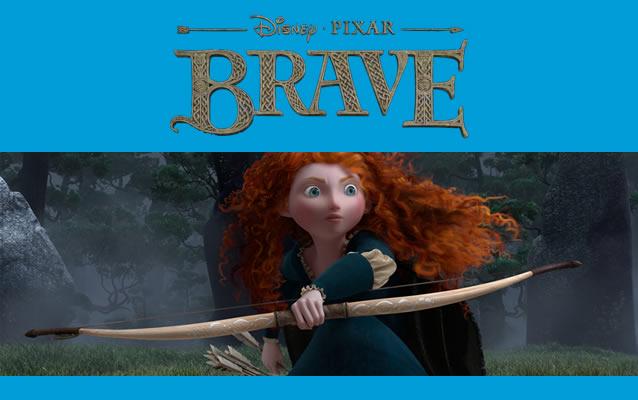 BRAVE, the new Disney Pixar Movie