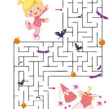 Chloe's Closet : Halloween maze online game