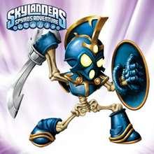 CHOP CHOP Skylanders hero online puzzle - Free Kids Games - KIDS PUZZLES games - SKYLANDERS video game online puzzles