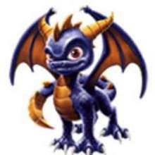 Desenho do Dragão SPYRO  para colorir
