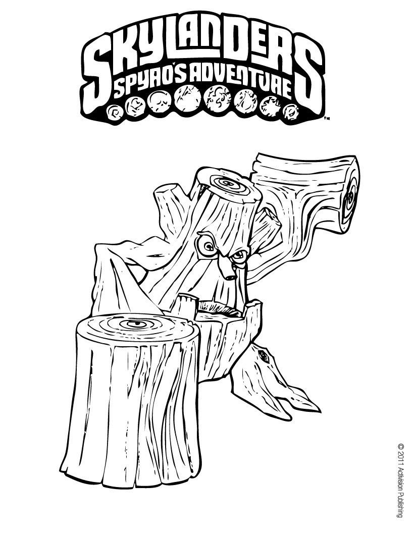 stump smash coloring pages hellokids com