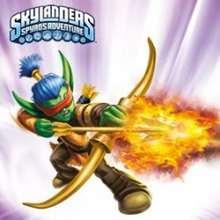FLAME SLINGER Skylander hero sliding puzzle - Free Kids Games - SLIDING PUZZLES FOR KIDS - SKYLANDERS characters sliding puzzles