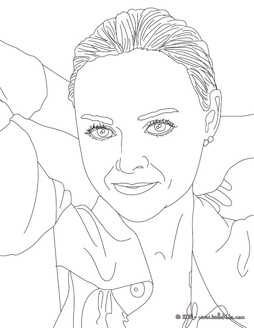 Stella Mc Cartney Coloring Pages Hellokids Com