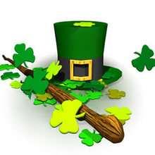 St Patrick's Day symbols puzzle