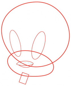 How To Draw Tweety Looney Tunes Hellokids Com