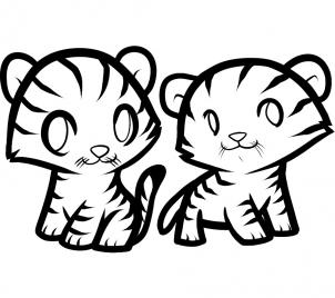 How To Draw How To Draw Tigers For Kids Hellokids Com