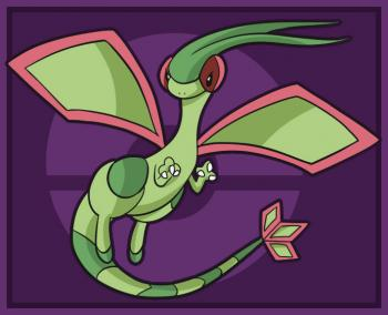flygon coloring pages - photo#39
