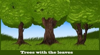 How To Draw How To Draw Trees Hellokids Com