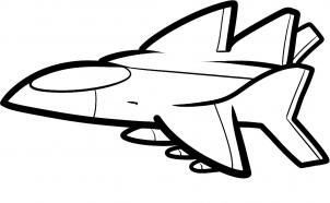 How to draw how to draw a jet for kids - Hellokids.com