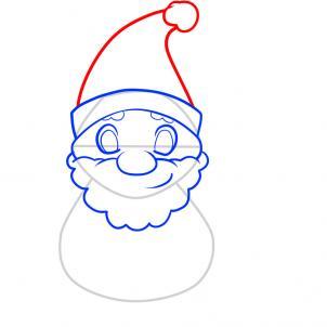 How To Draw Santa Hellokidscom