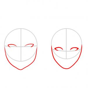 How To Draw How To Draw A Face For Kids Hellokids Com